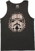 Star Wars Tribal Trooper Helmet Tank Top