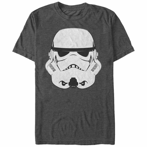 Star Wars Trooper Helmet Heather T-Shirt