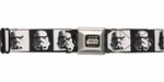 Star Wars Trooper Helmets Squares Seatbelt Belt