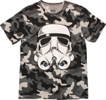 Star Wars Trooper Snow Camo T Shirt
