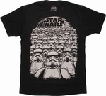 Star Wars Trooper Squad T Shirt Sheer