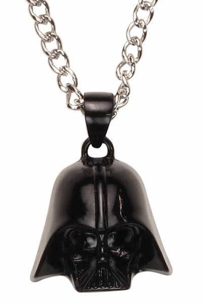 Star Wars Vader 3D Helmet Necklace