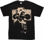 Star Wars Vader Boom Box Retro T Shirt