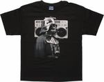 Star Wars Vader Boombox Youth T Shirt
