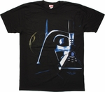 Star Wars Vader Death Star T Shirt Sheer