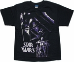 Star Wars Vader Fear Dark UV Youth T Shirt
