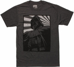 Star Wars Vader Framed Rays T Shirt Sheer