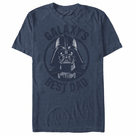 Star Wars Vader Galaxy Dad T-Shirt