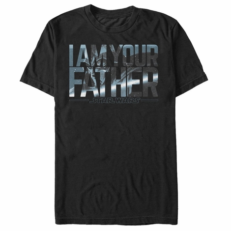 Star Wars Vader in Father T-Shirt