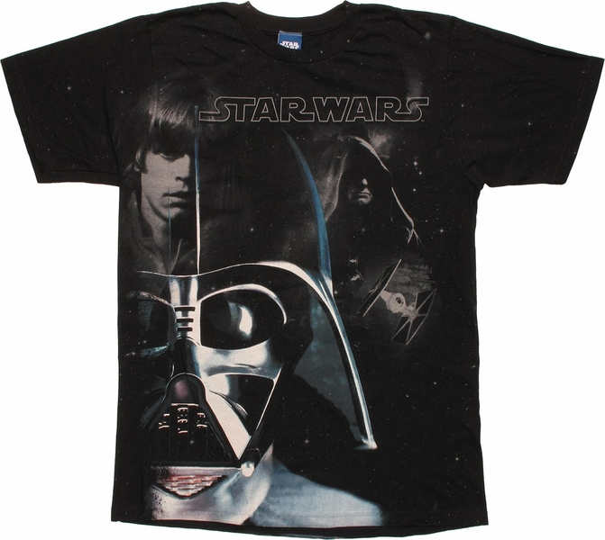 Star Wars Vader Luke Sidious T Shirt Sheer