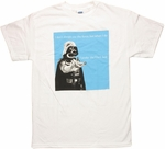 Star Wars Vader Prefer Dark White T Shirt