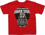 Star Wars Vader See Dark Side Toddler T Shirt