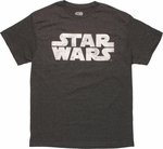 Star Wars Vintage Logo T Shirt