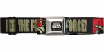 Star Wars Yoda Feel the Force Seatbelt Mesh Belt