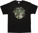 Star Wars Yoda Force Circle T Shirt