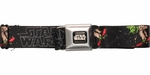 Star Wars Yoda Red Skateboard Seatbelt Mesh Belt