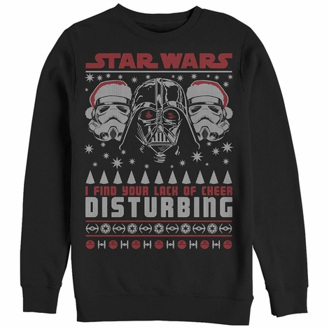 Star Wars Your Lack of Cheer Sweatshirt