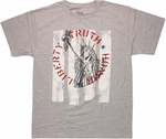 Statue of Liberty Truth Honor T Shirt