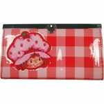 Strawberry Shortcake Plaid Clutch Wallet