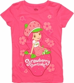 Strawberry Shortcake Sit Juvenile T Shirt