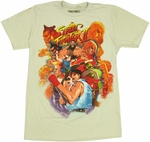 Street Fighter 2 Box T-Shirt Sheer