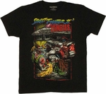 Street Fighter 2 Zombie T Shirt Sheer