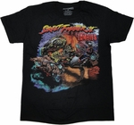 Street Fighter 2 Zombies T Shirt Sheer