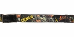 Street Fighter Blanka Black Mesh Belt