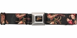 Street Fighter Cammy Black Seatbelt Belt