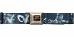 Street Fighter Chun-Li Blue Seatbelt Belt