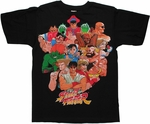 Street Fighter Group T Shirt