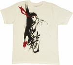 Street Fighter IV Ryu T Shirt Sheer