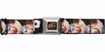 Street Fighter Ryu Hadouken Move Seatbelt Belt