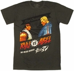 Street Fighter Ryu vs Abel T Shirt Sheer