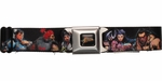 Street Fighter Series Characters Seatbelt Mesh Belt