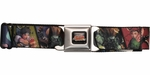 Street Fighter Series Characters Squares Seatbelt Mesh Belt