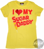 Sugar Daddy Heart Baby Tee