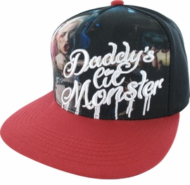 Suicide Squad Daddy's Lil Monster Snapback Hat