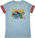 Super Friends Group Baby Tee