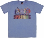 Super Friends On Name T Shirt Sheer
