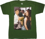 Superbad Fogell Dance Green T Shirt Sheer