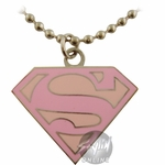 Supergirl Logo Necklace