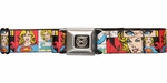 Supergirl Panels Seatbelt Belt