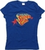Supergirl Stacked Name Glitter Baby Tee