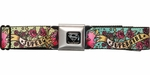 Supergirl Tattoo Wrap Seatbelt Belt