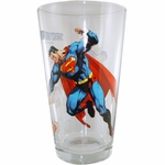 Superman 75th Glass