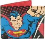 Superman Action Pose Bifold Wallet