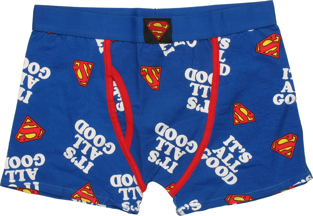 Superman All Good Boxer Briefs