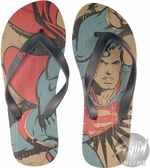 Superman Allover Sandals