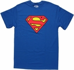 Superman Basic Logo T Shirt